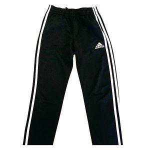 Adidas Black Athletic Pants- Boys Size M (10-12)